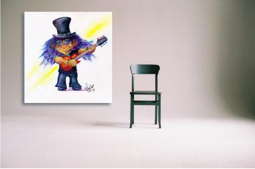 Slash-Troll-Wall-Art-with-Chair