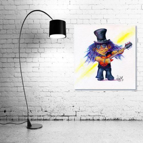 Slash-Troll-Wall-Art-with-Lamp