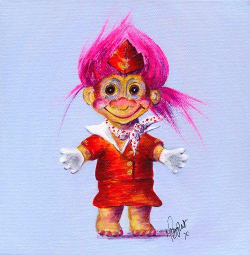 Trolley-Dolly-Troll