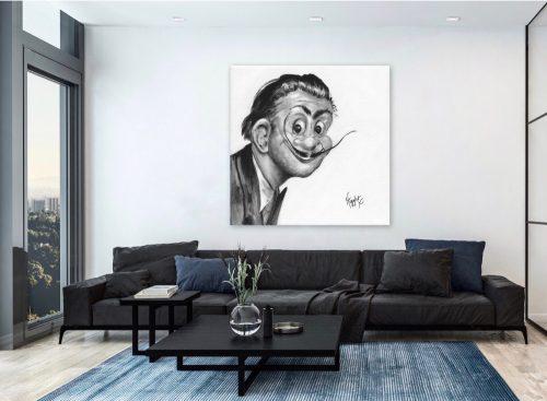 Salvador Dali Troll Art