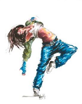 Paintings of Dancers 6